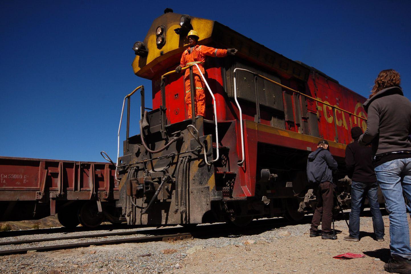 Przemierzając Peru koleją