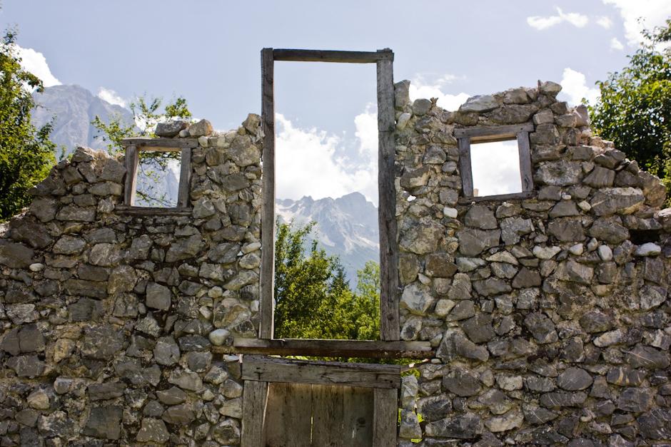 Ruiny w Albanii