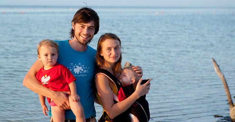 Rodzina bez granic, czyli Anna, Thomas, Hanna i Mila Alboth