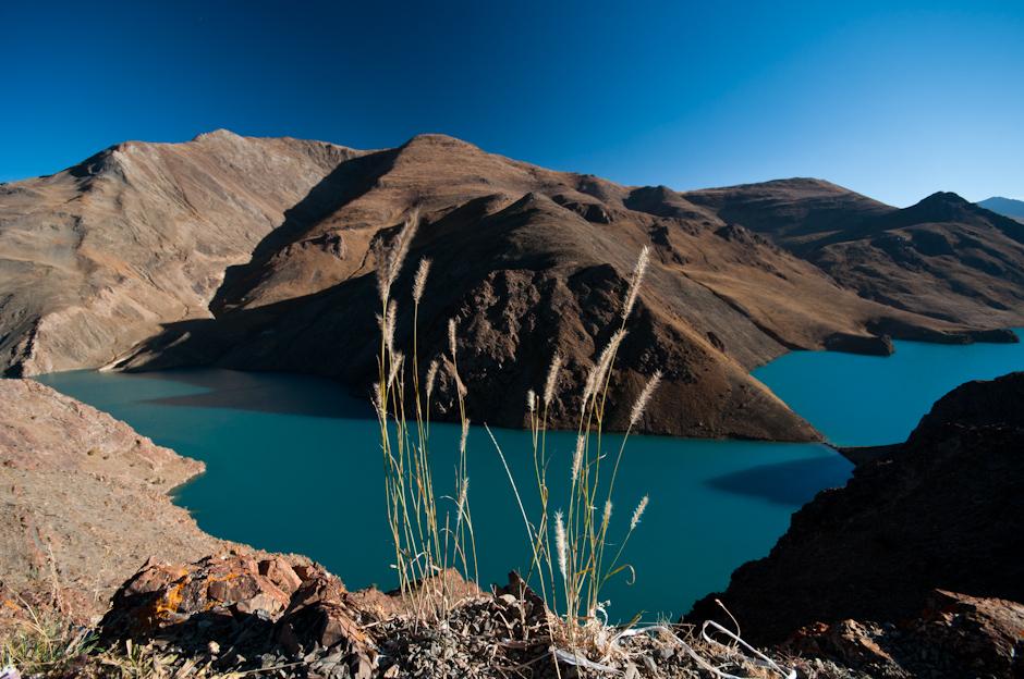 Podróż do Tybetu. Zdjęcia znad jeziora Yamdrok