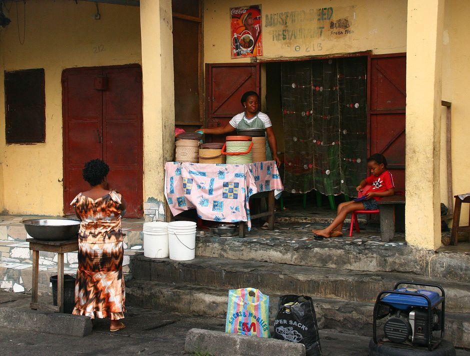 Mieszkańcy Nigerii i ich życie codzienne