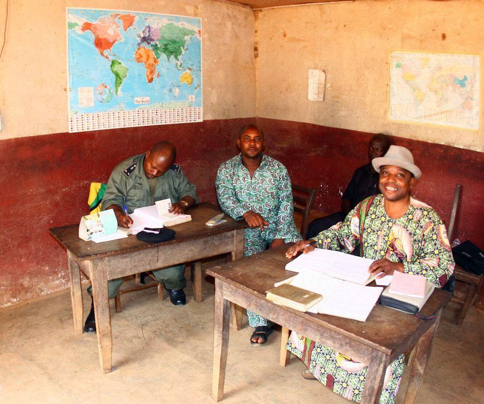 Urzędnicy z Kamerunu