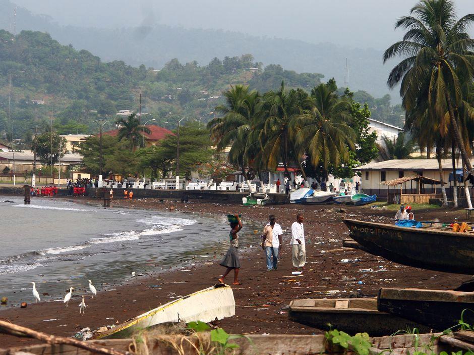 Nadmorskie miasteczko Limbe