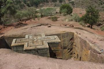 Zdjęcia z Etiopii - Lalibela