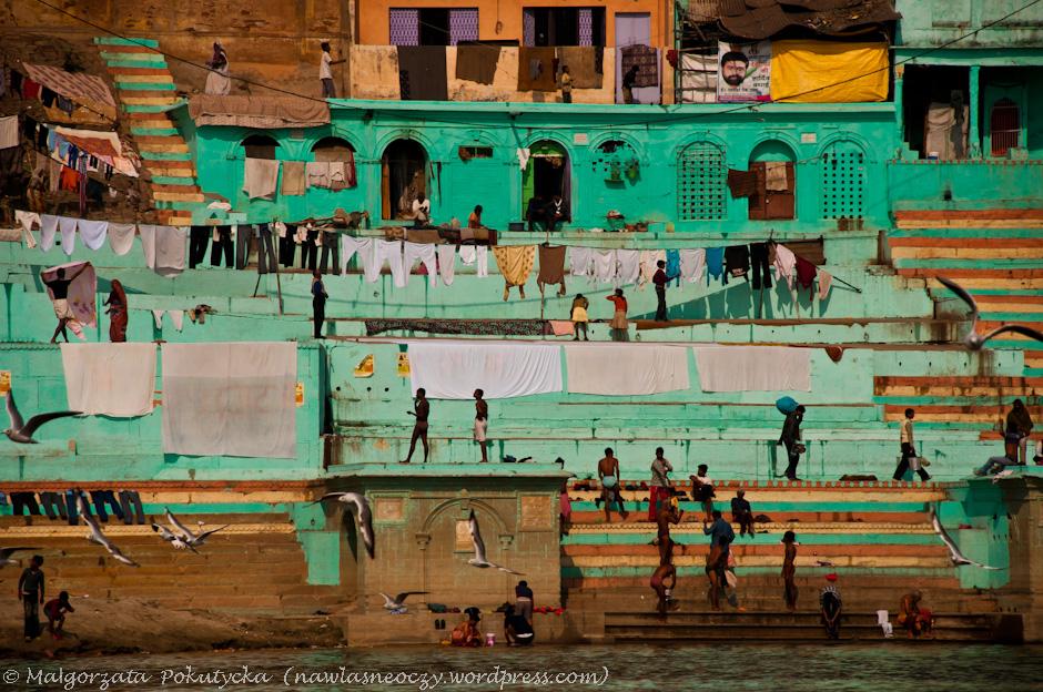Ghaty w Waranasi