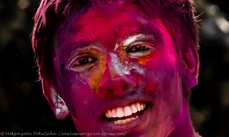 Święto Holi w Indiach