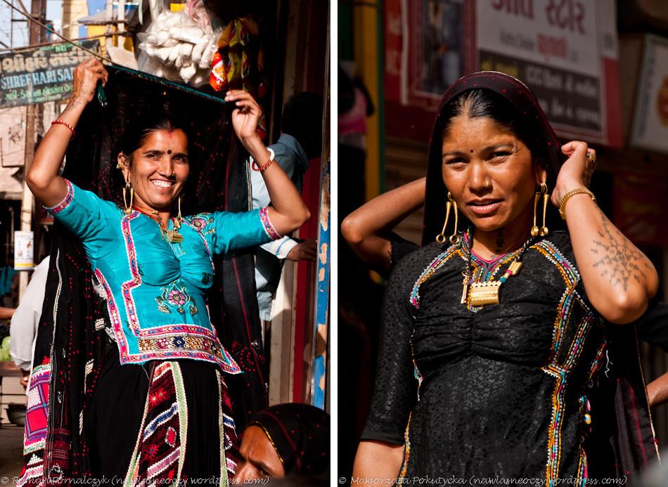 Barwne stroje mniejszości narodowych w Indiach