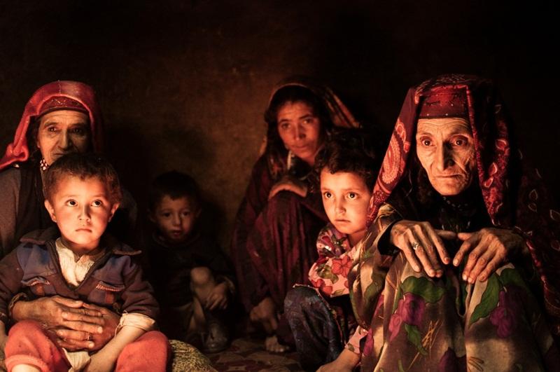 Wieczór w afgańskim domu.