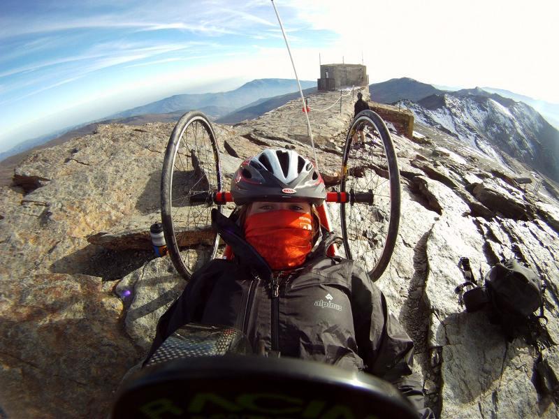 Karina Jasińska na Pico del Veleta