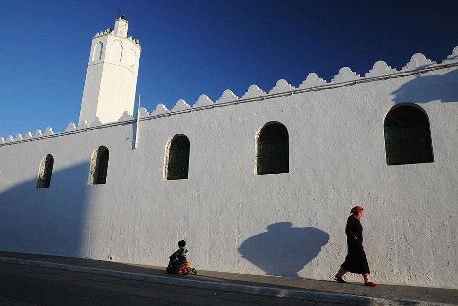 W każdej marokańskiej miejscowości łatwo znaleźć kilka meczetów