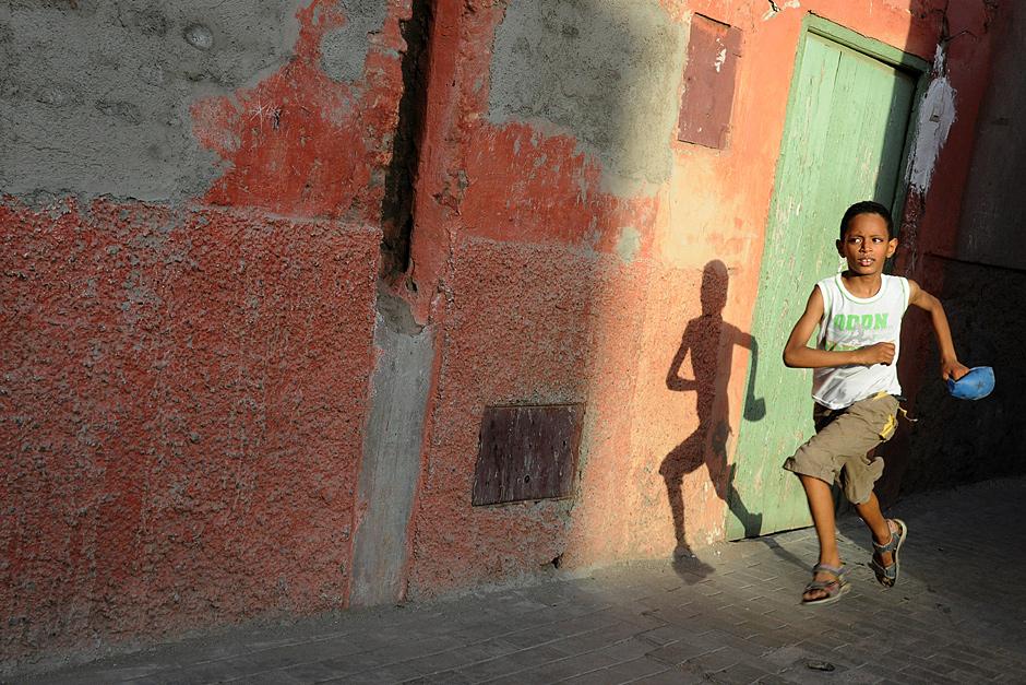 medyna w Marrakeszu