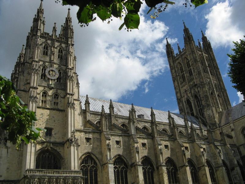 Katedra w Canterbury - gotowi, do pielgrzymki start! (Fot. Daria Urban)