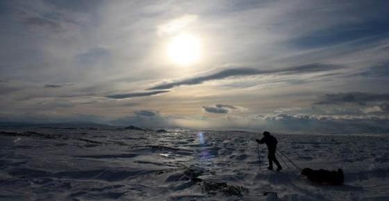 Ural Subpolarny zimą