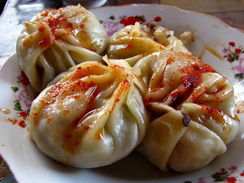 Kuchnia kirgiska - pierożki