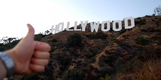 Napis Hollywood w Los Angeles
