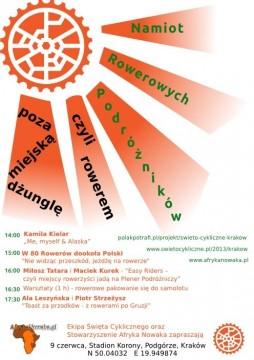 Święto Cykliczne w Krakowie: Namiot Rowerowych Podróżników
