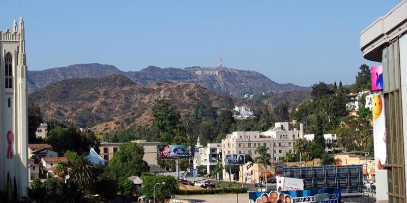 Los Angeles - widok z Kodak Theatre