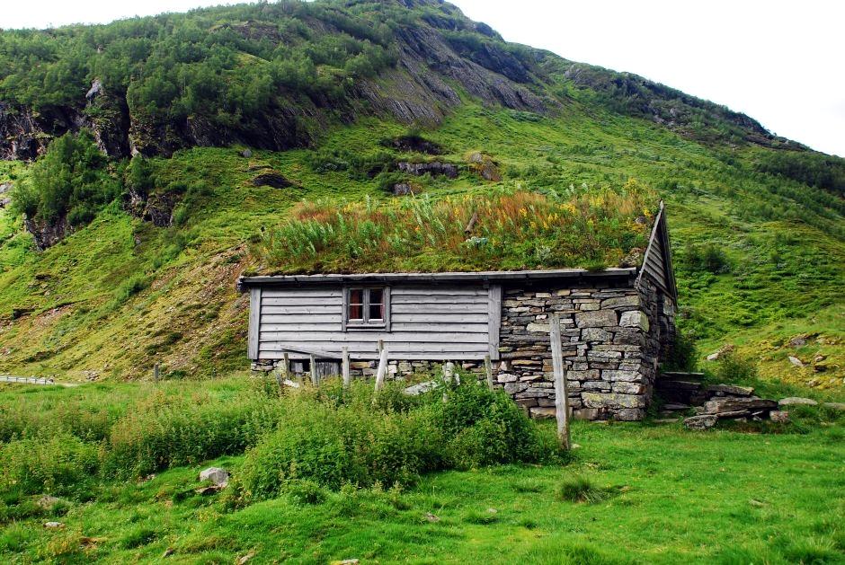 Szałas w Norwegii - zdjęcia z podróży