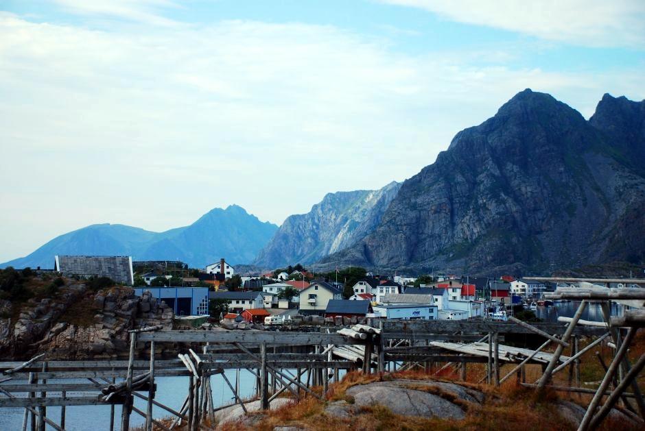 Malownicze norweskie miasteczko