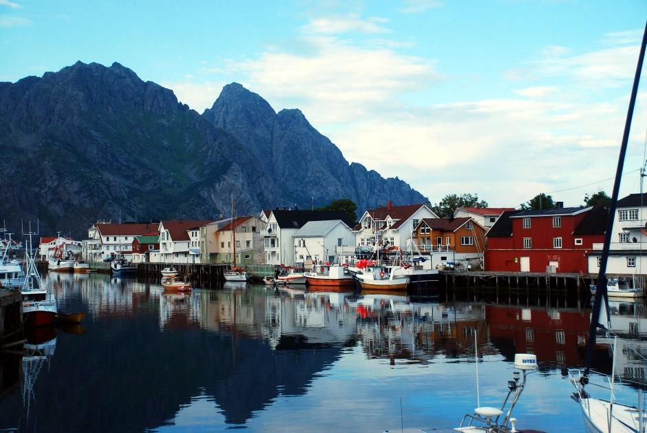 Henningsvaer - foto z podróży do Norwegii