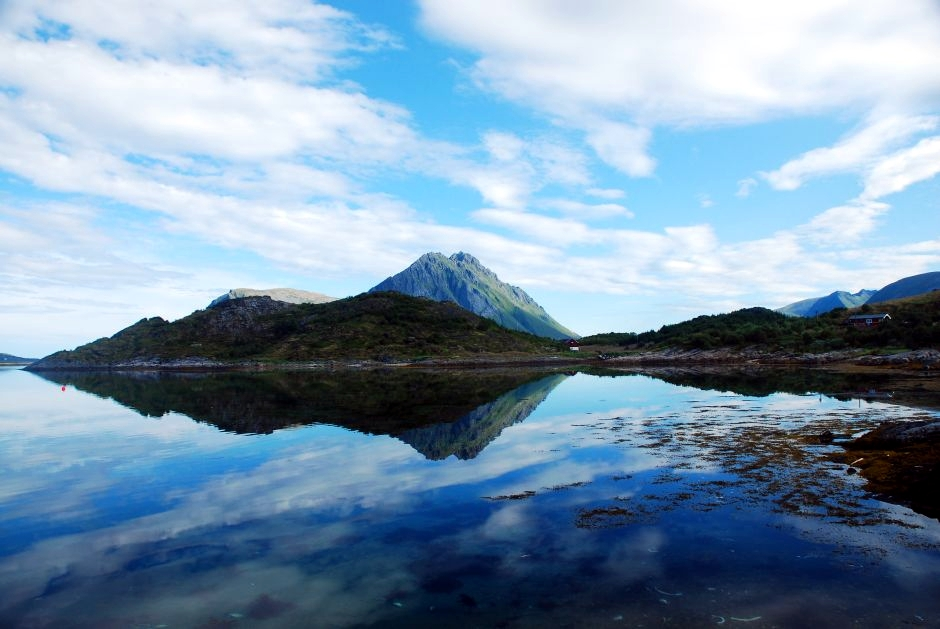 Nocleg w namiocie w Norwegii