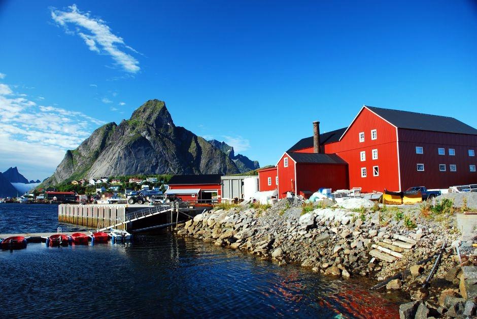 Malownicze norweskie miasteczko - zdjęcia z podróży