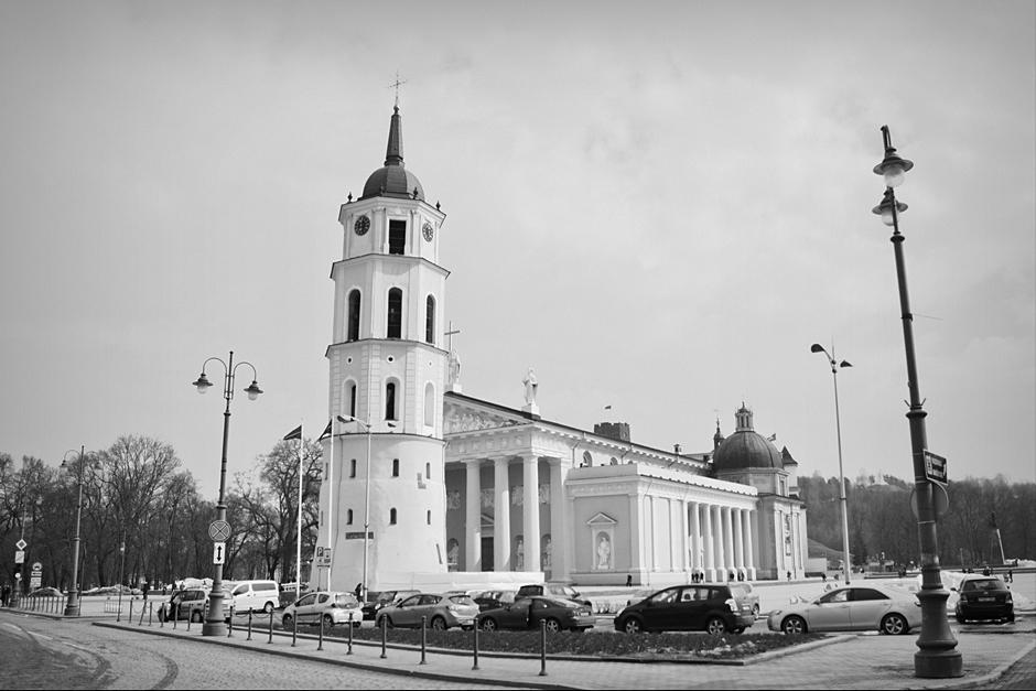 Katedra w WIlnie - zdjęcia z podróży na Litwę