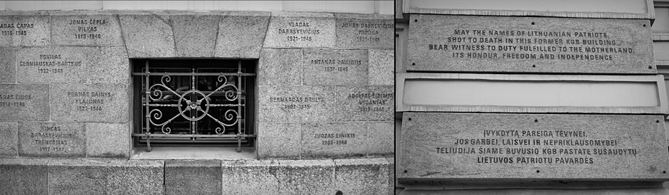 Zdjęcia z Litwy - muzeum ludobójstwa w Wilnie