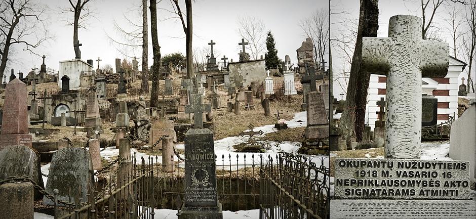 Cmentarz w Wilnie - foto