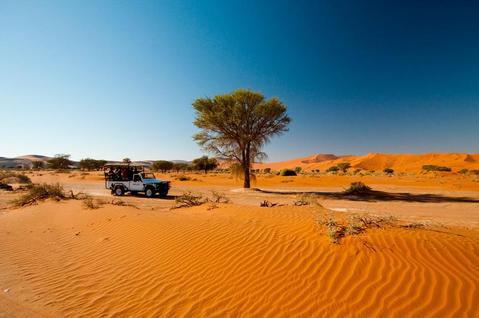Podróż przez afrykańską pustynię - foto