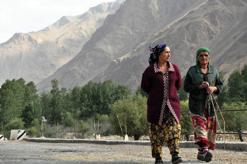 Kobiety z Tadżykistanu