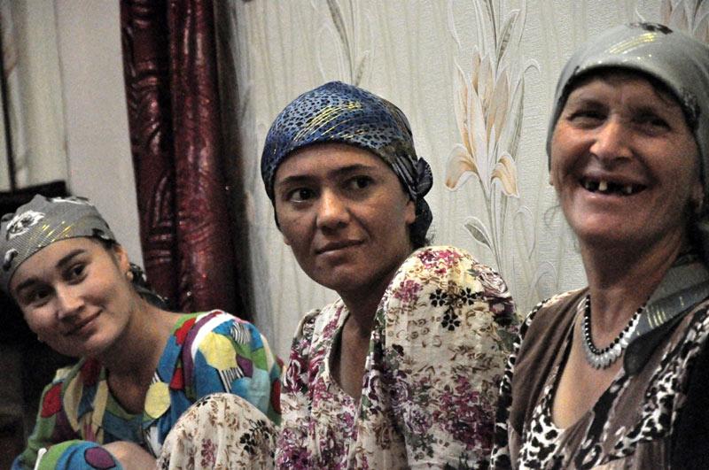 Kobiety z Azji Środkowej