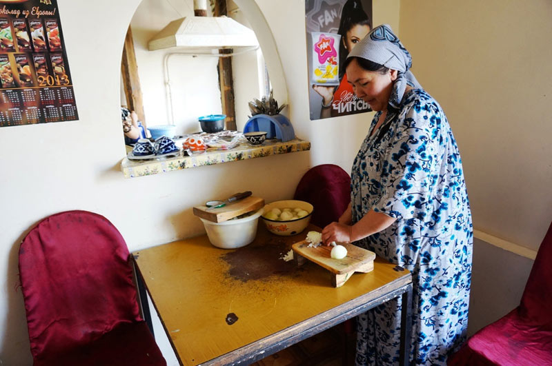 Wiejska kuchnia w Tadżykistanie