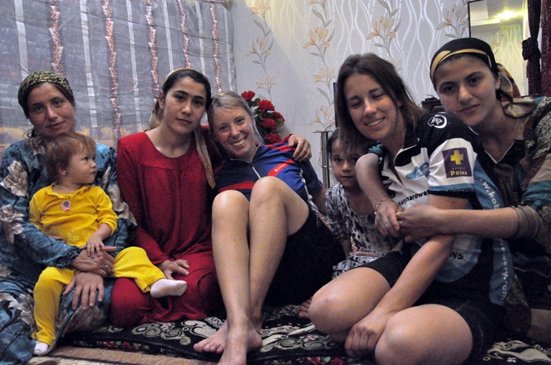 Wizyta w domu w Azji Centralnej
