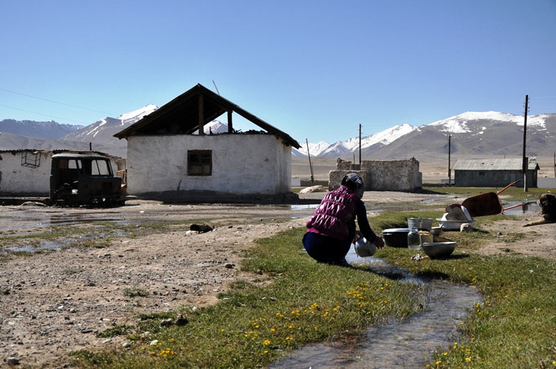 Wioska w Tadżykistanie