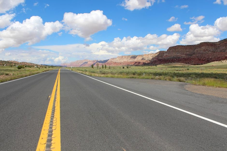 Trasa podróży przez Utah