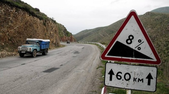 Podróż rowerem przez Armenię