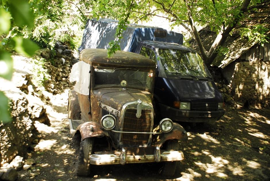 Stare samochody w Armenii