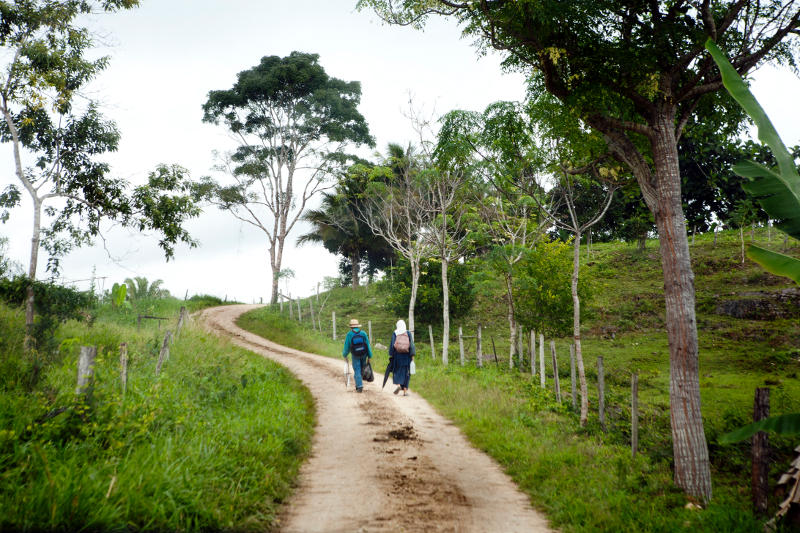Mennonici z Belize w drodze