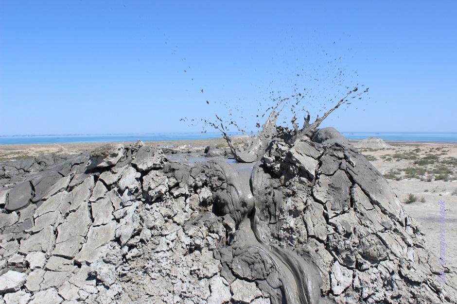 Zdjęcia z Azerbejdżanu - błotne wulkany