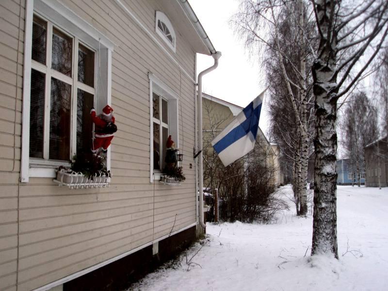 Święty Mikołaj i święta w Finlandii