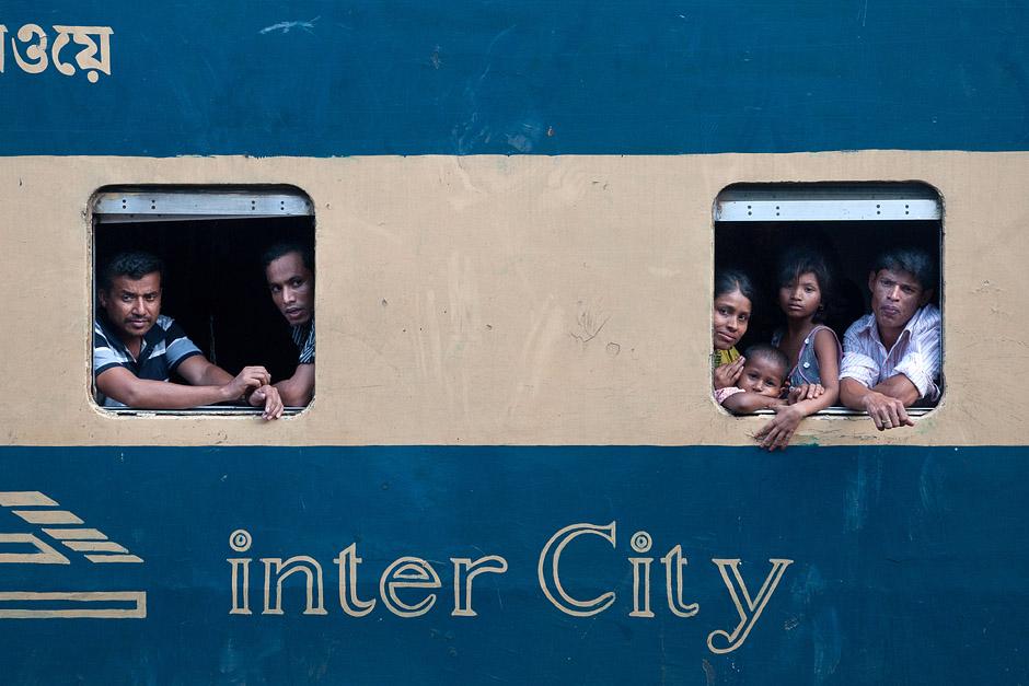 Kolej w Bangladeszu - zdjęcia z podróży
