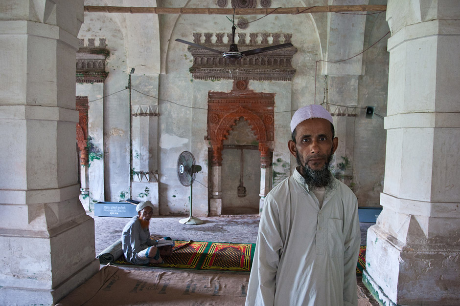 Meczet w Bangladeszu - foto