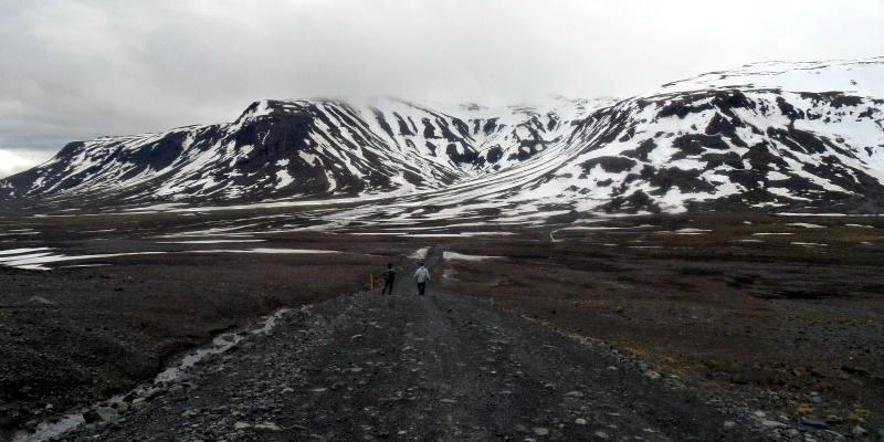 Trekking w górach Islandii