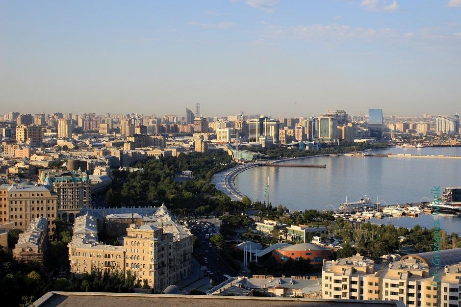 Wzgórze męczenników - zdjęcia z Baku