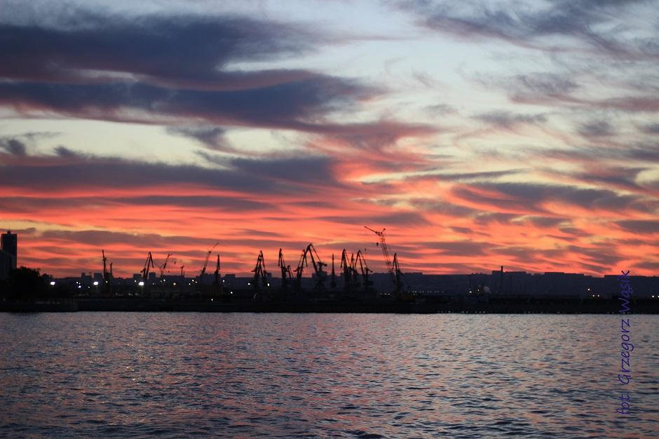 Port w Baku