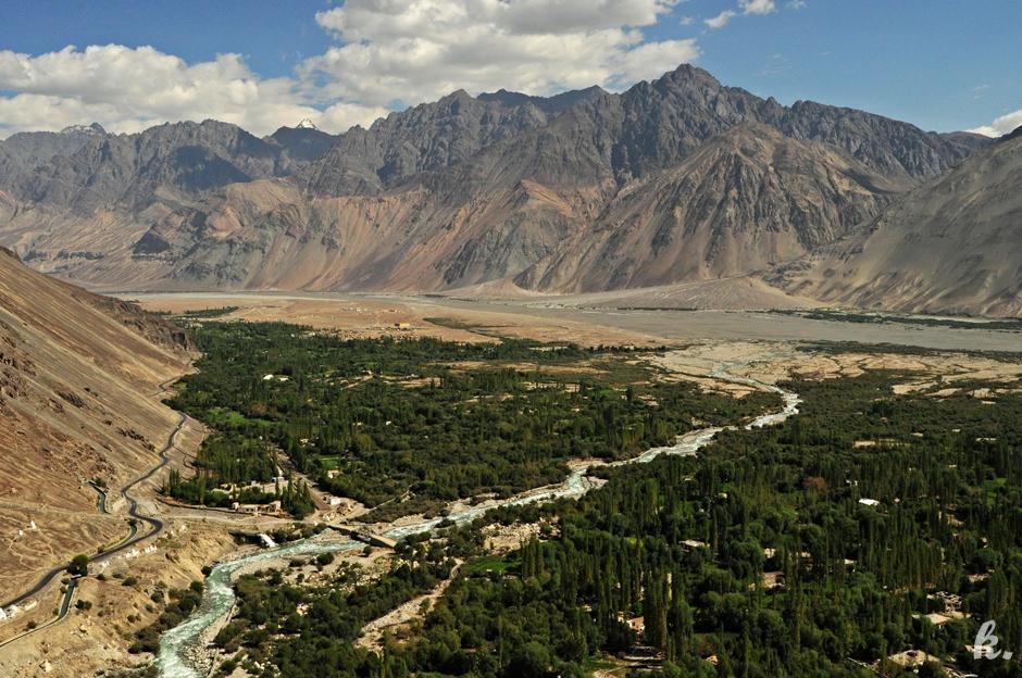 Dolina Nubry ukryta w Himalajach - zdjęcia z wakacji
