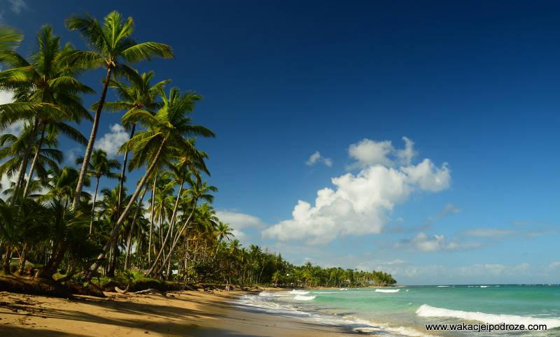 Rajskie plaże Dominikany