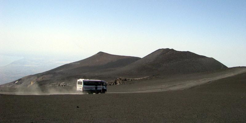Etna - podróż na Sycylię