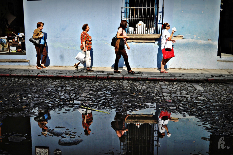 Kobiety z Gwatemali - foto